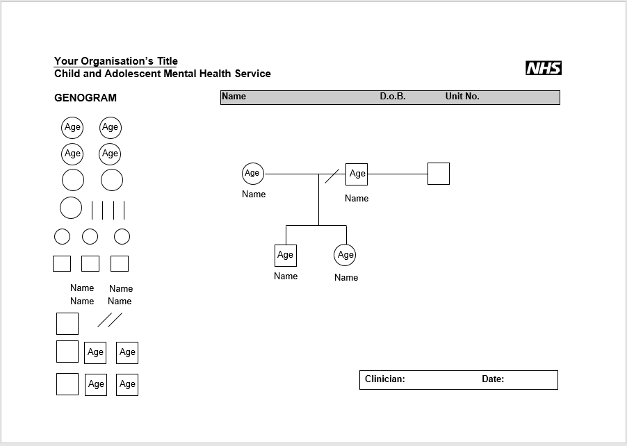free genogram template for mac - genogram template the work breakdown structure template