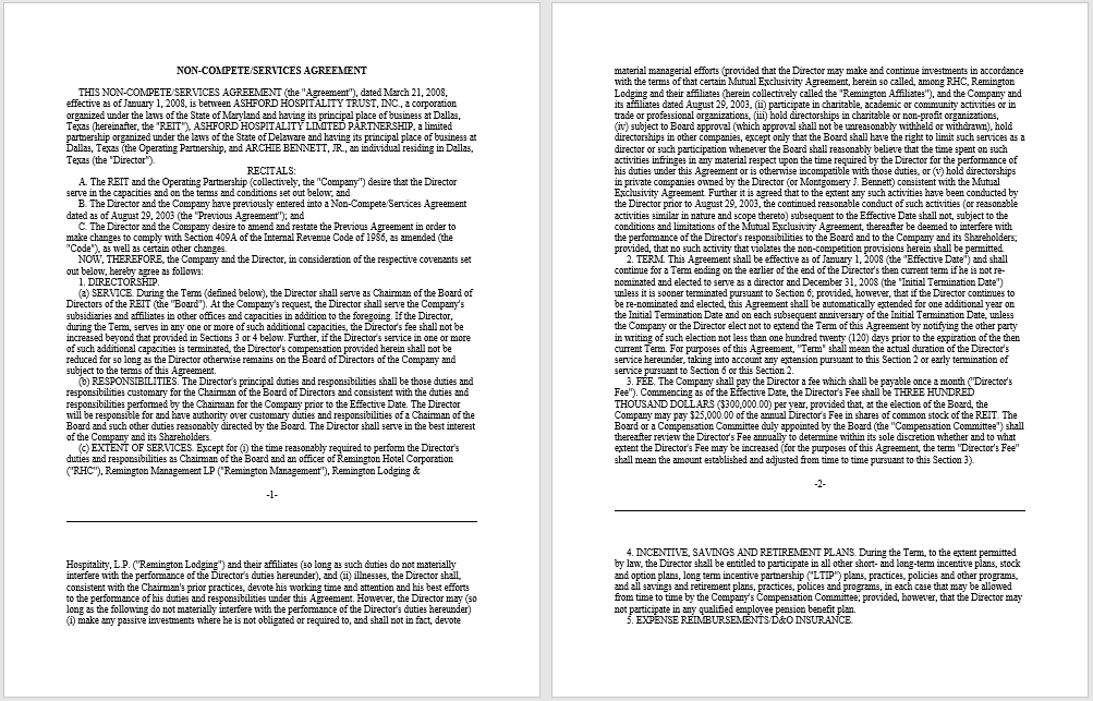 non-compete agreement template 12