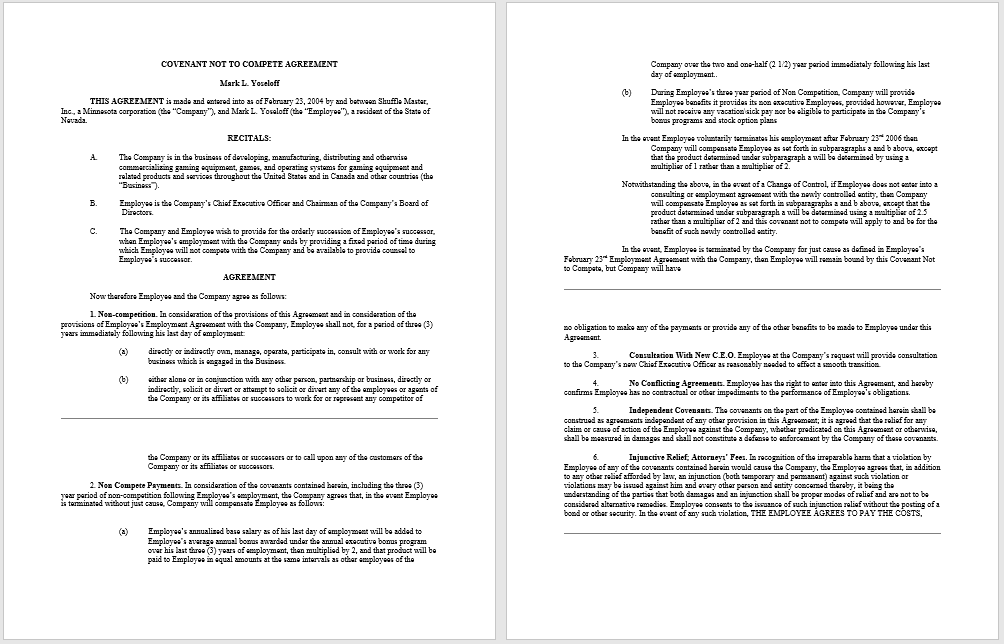 Executive Producer Agreement Template