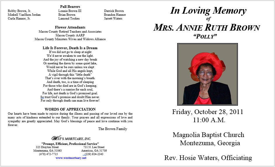 10 Microsoft Word Obituary Templates Free Download Mandegarfo