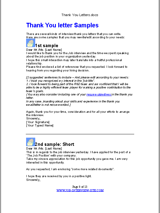 sample thank you letter pdf 02
