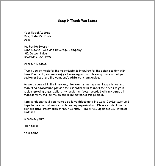 sample thank you letter pdf 06