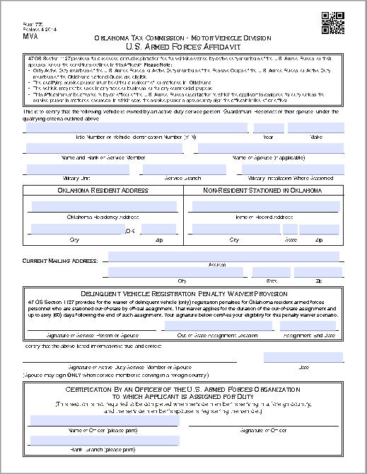 affidavit form 02