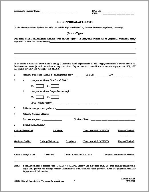 affidavit form 32