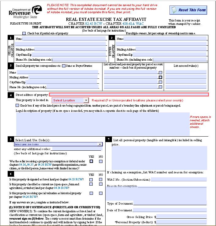 affidavit form 40