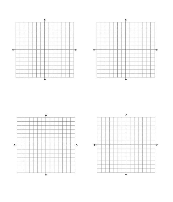 Graph Paper Template 05  Graph Paper Template