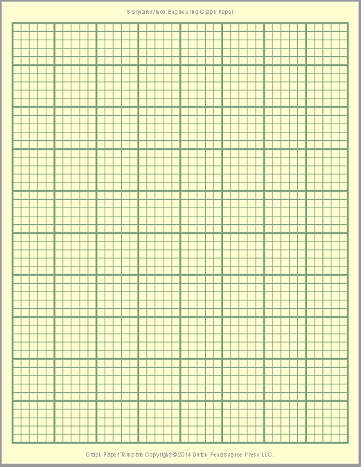 Graph Paper Template 06