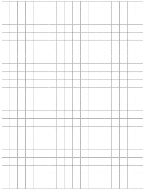 graph paper template 11