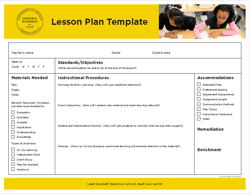 Lesson plan for plot characters in stolen day with blooms for Bloom taxonomy lesson plan template