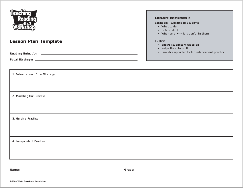 lesson plan template 23