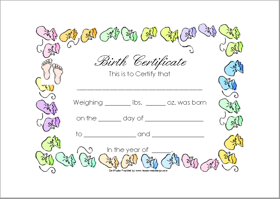 14 free birth certificate templates ms word pdfs templatehub birth certificate template 01 yadclub Image collections