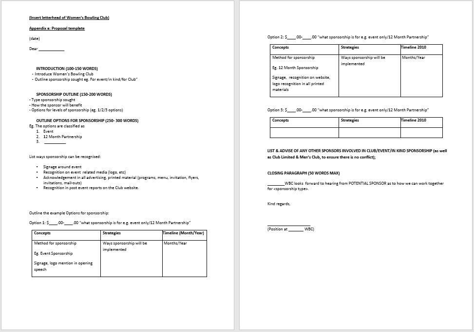 sponsorship letter template 14