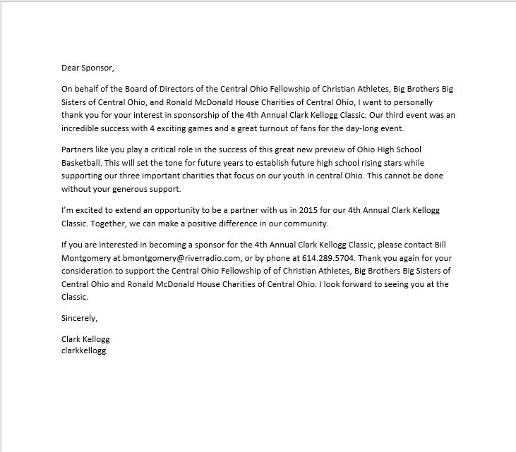 sponsorship letter template 20