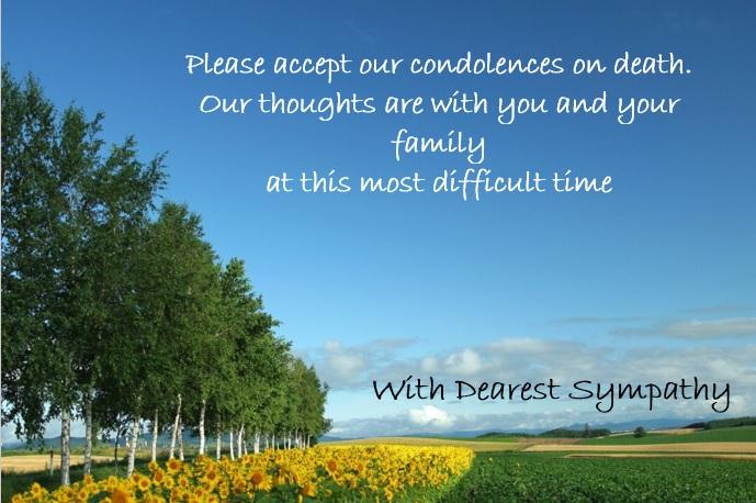 sympathy message card 20
