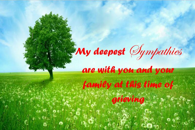 sympathy message card 31