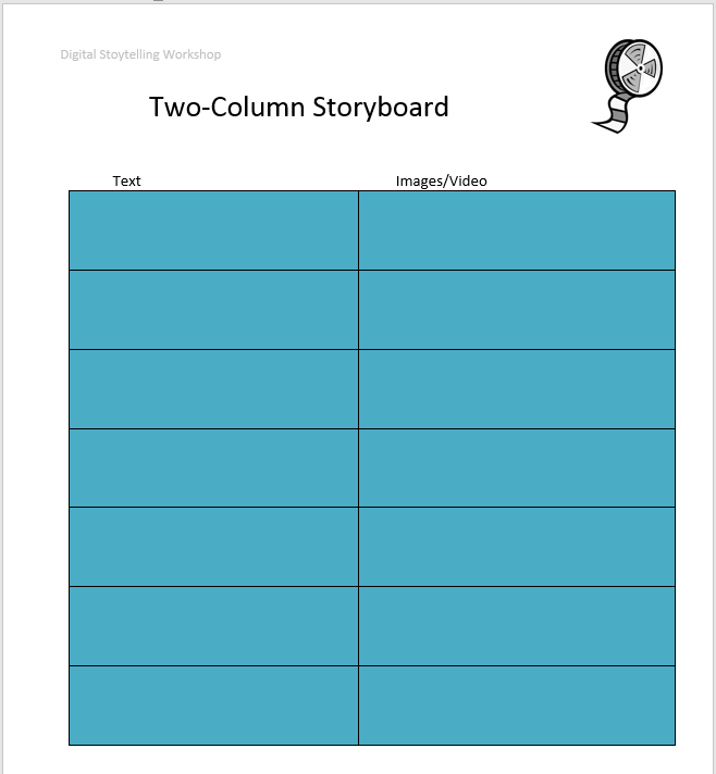38 Free Storyboard Templates