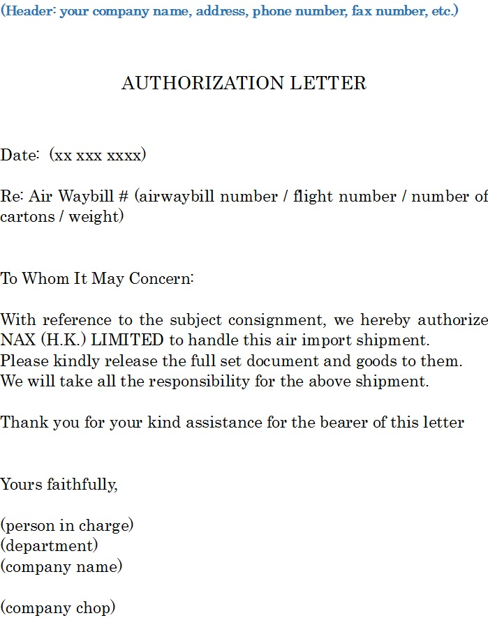 37 free authorization letter templates templatehub authorization letter template 02 thecheapjerseys