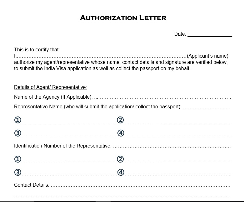 Free Authorization Letter Templates  Templatehub