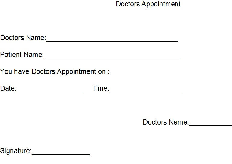 Doctor notes 18