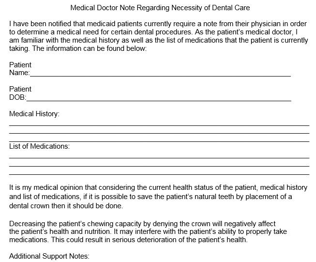 Doctor notice 38