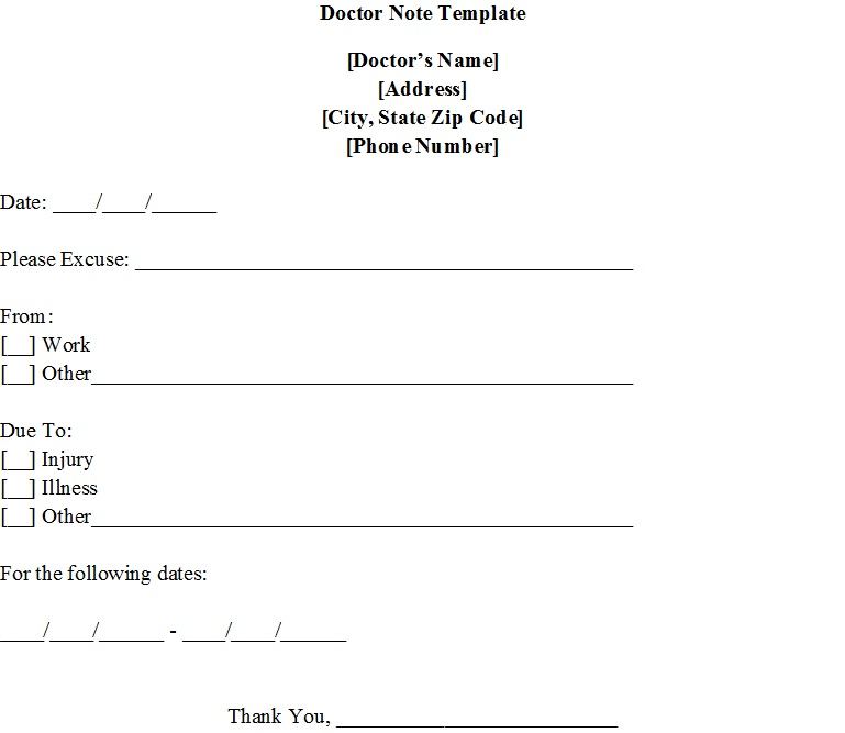 Doctor notice 39