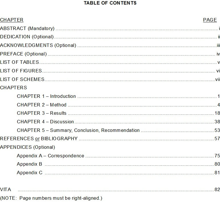 Table-Of-Content-Template 13