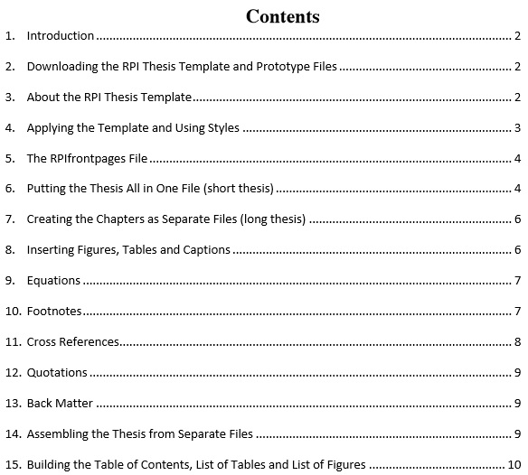 Table-Of-Content-Template 22