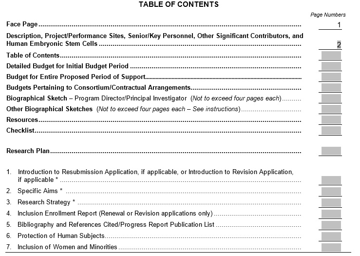 Table-Of-Content-Template 7
