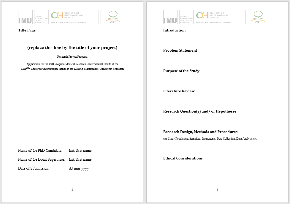 research proposal template 19