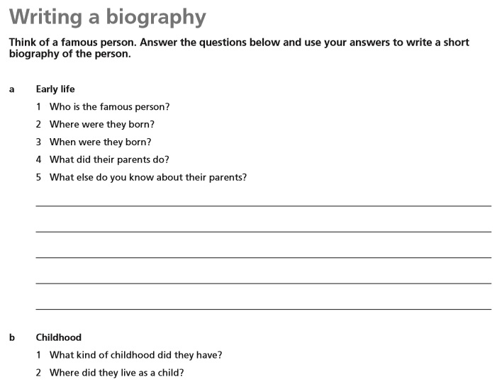 Biography Template 11