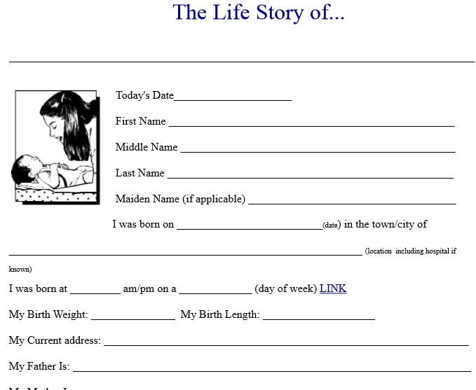 Biography Template 16