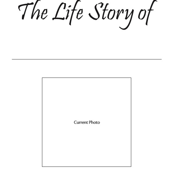 Biography Template 37