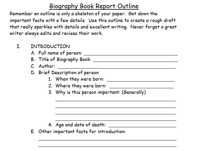 Biography Template 7