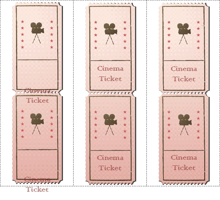 Movie ticket Templates 6