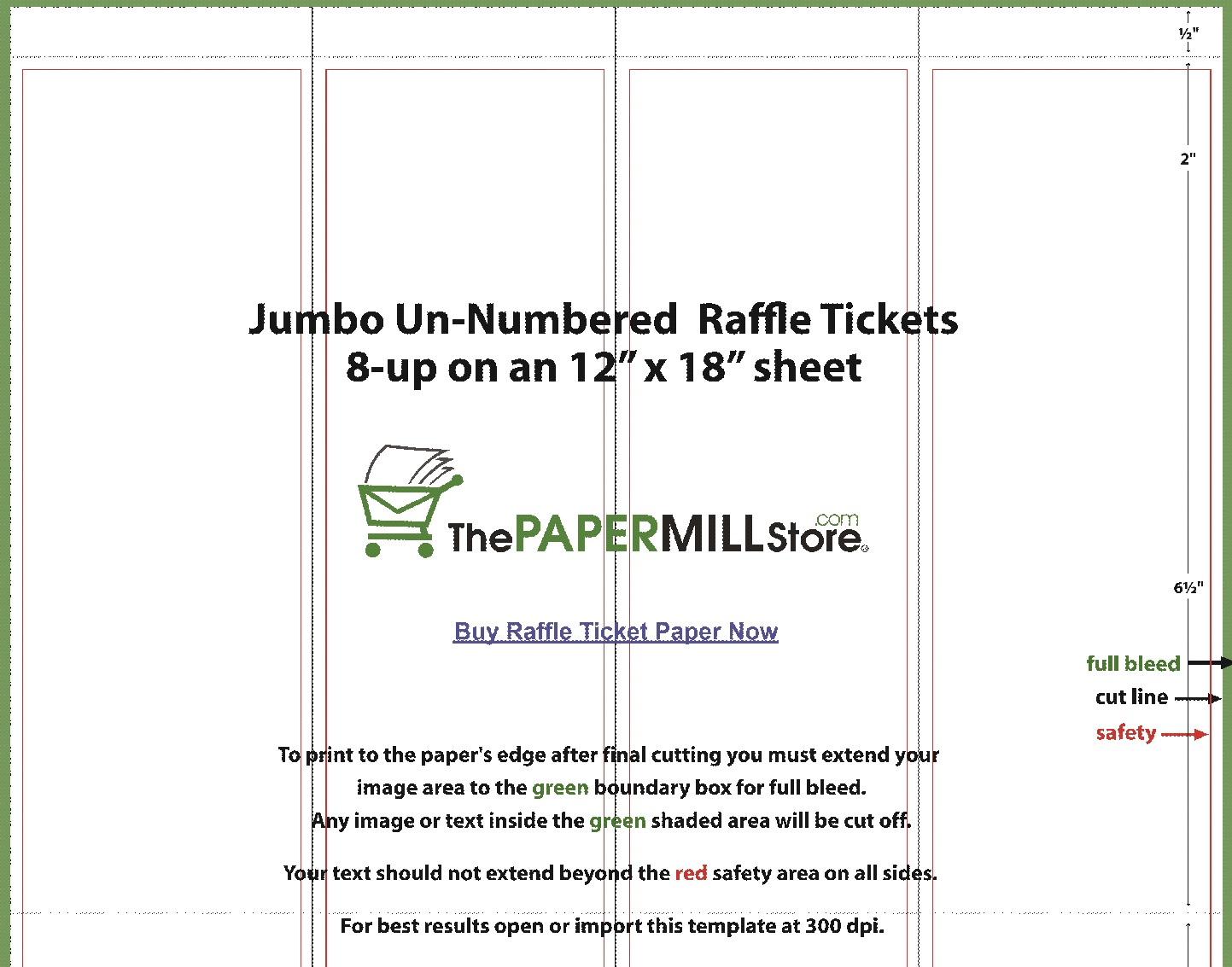 Raffle Ticket Templates 15