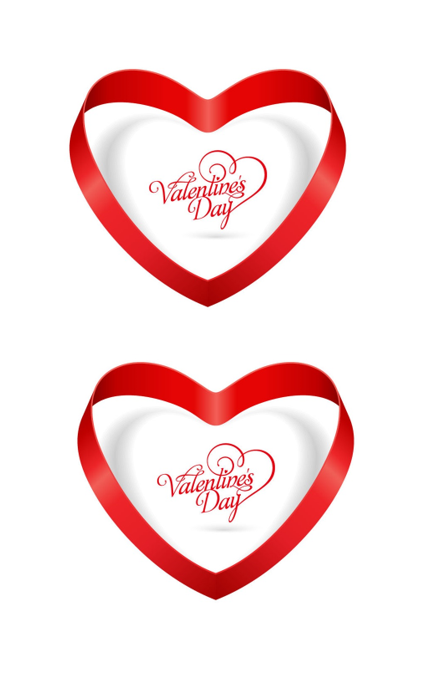 Heart Shape Template 06