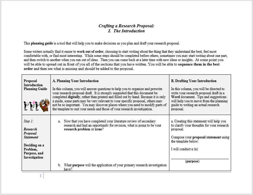 research proposal template 12