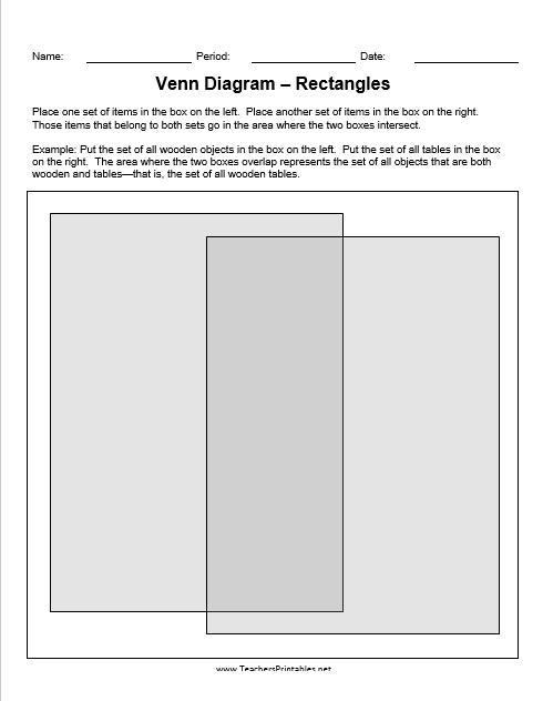 Venn Diagram Template 02