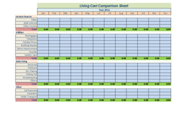 Cost Benefit Analysis Template 05