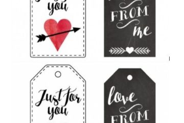 Printable Gift Tag Template 08