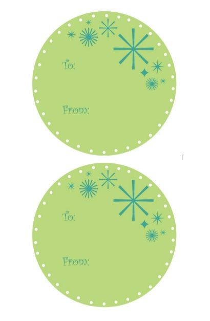 Printable Gift Tag Template 40