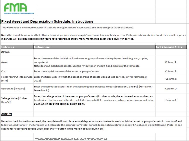 depreciation schedule template 02