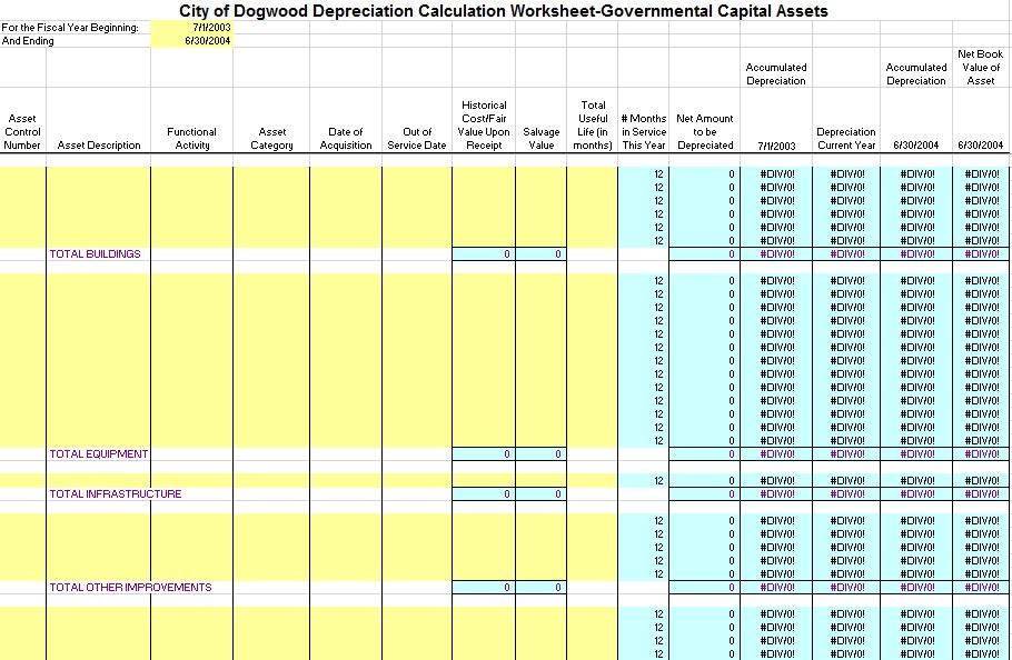 depreciation schedule template 04