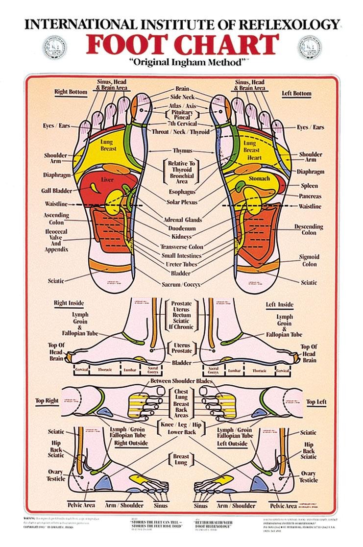 foot reflexology chart 10