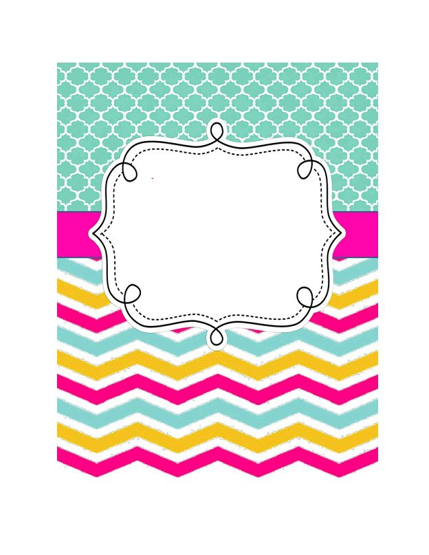 Binder cover template 17
