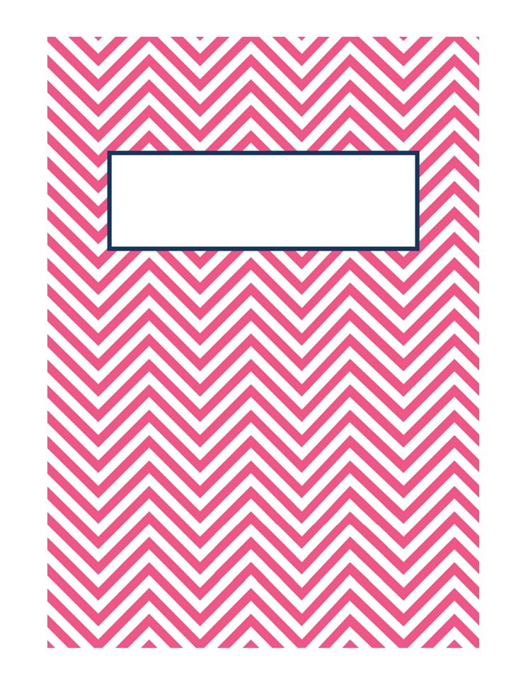 Binder cover template 19