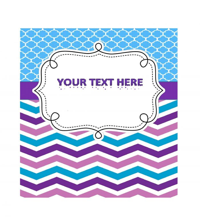 Binder cover template 22