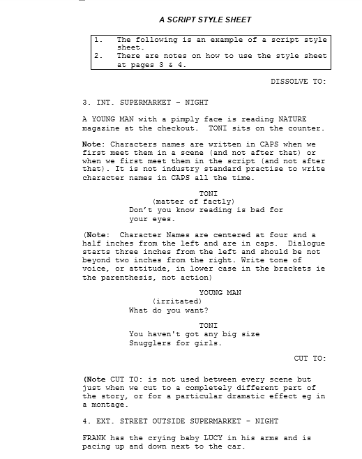 Screenplay Template 04