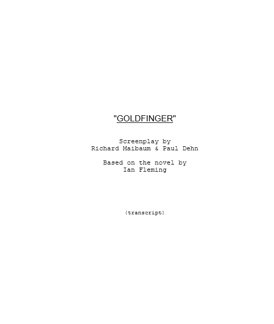 Screenplay Template 14