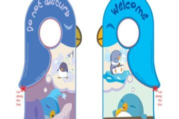 Door Hanger Template 02
